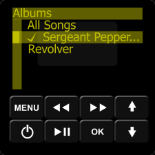 IMAGE: Essentia Keypad Songs Menu