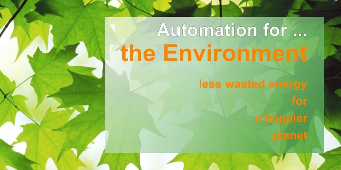 IMAGE: Automation for the Environment Slide