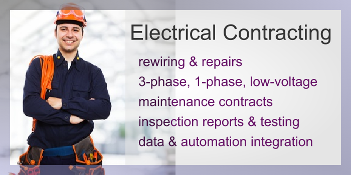 IMAGE: Electrical Services for Business Slide