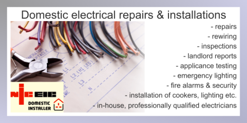 IMAGE: Electrical Services for the Home Slide