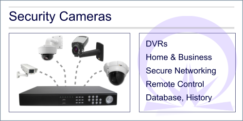 IMG: Security cameras for homes and businesses
